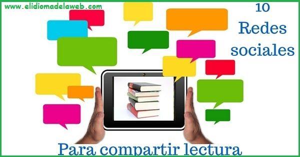 Redes Sociales encuentro para lectores