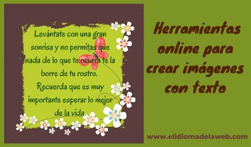 crear imágenes con texto online