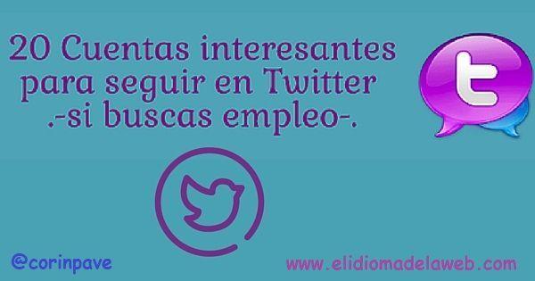 cuentas para seguir en Twitter