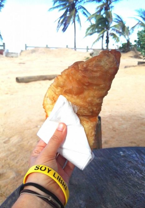 Food to try in Puerto Rico - Empanada