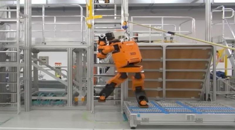 Robô-resgate: sobe escadas e aguenta chuva