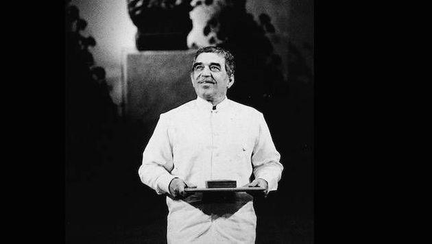 Gabriel García Márquez recebe o Prêmio Nobel de Literatura em 1982