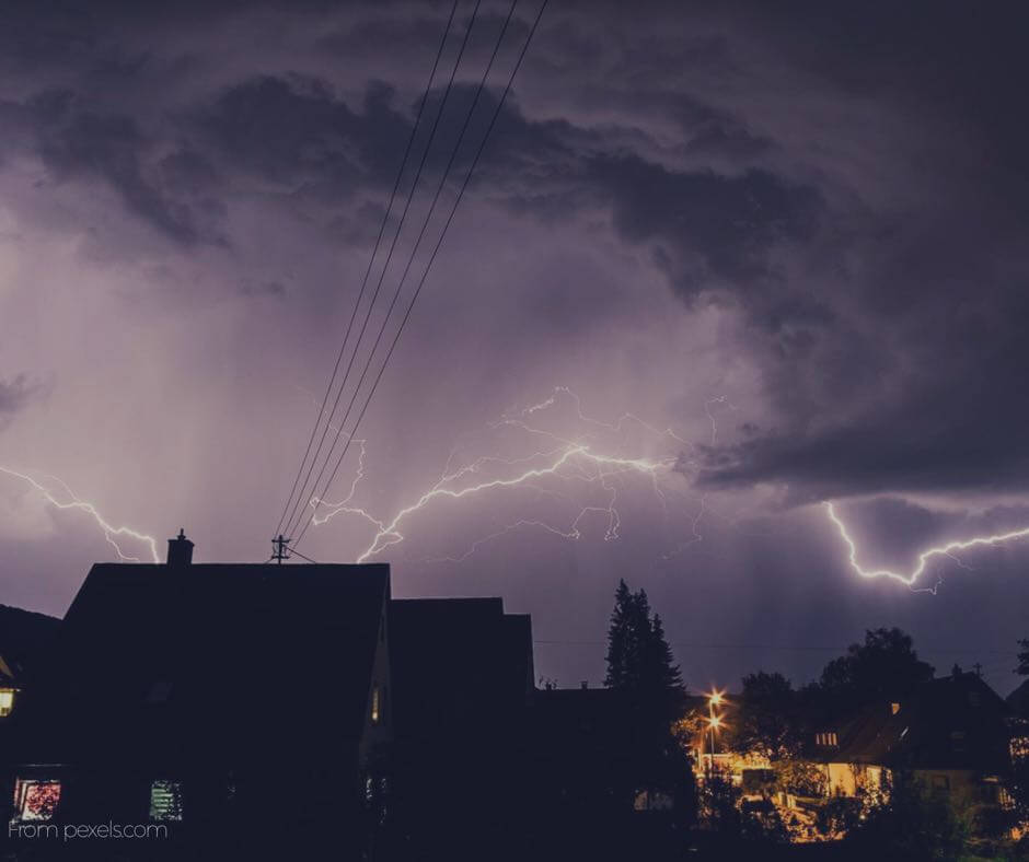 surge protection-lightning