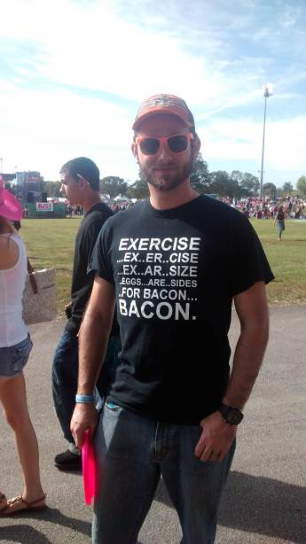 My Exercise is Makin' Bacon