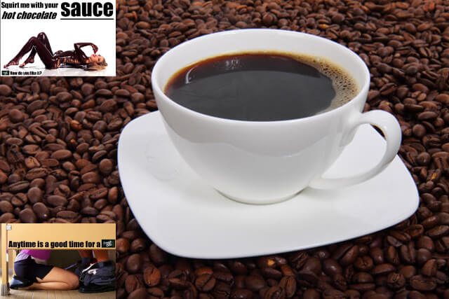 Fresh One Coffee Criticized for Porn-Inspired Ads