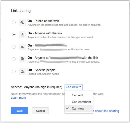 GoogleDocsLinkSharing