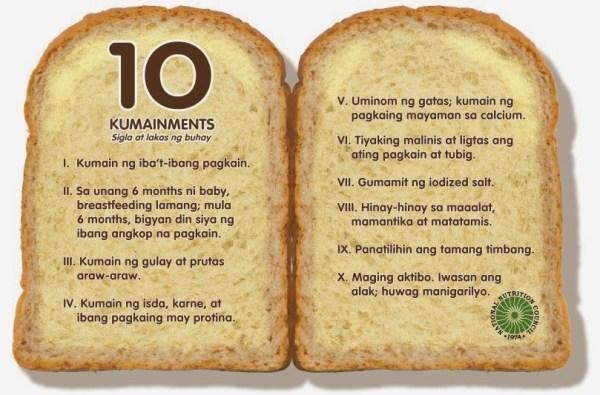 10 Kumainments