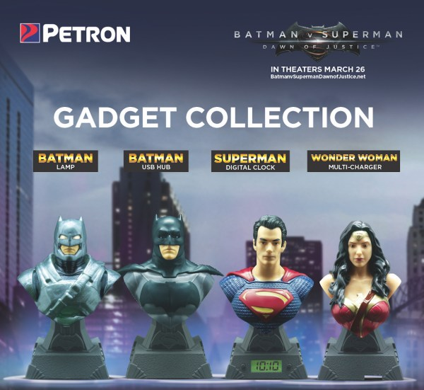 Collect Batman v Superman: Dawn of Justice exclusive gadgets from Petron