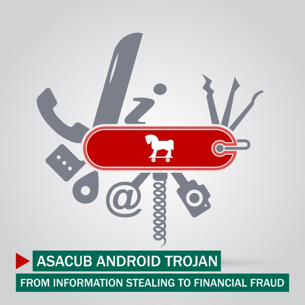 Kaspersky Lab's Anti-Malware Research team has discovered Asacub – a new malware that targets Android users for financial gain