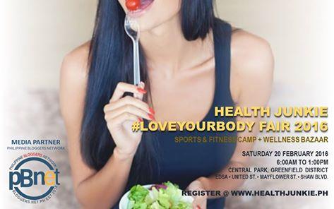 Healthy Junkie Love Your Body Fair 2016