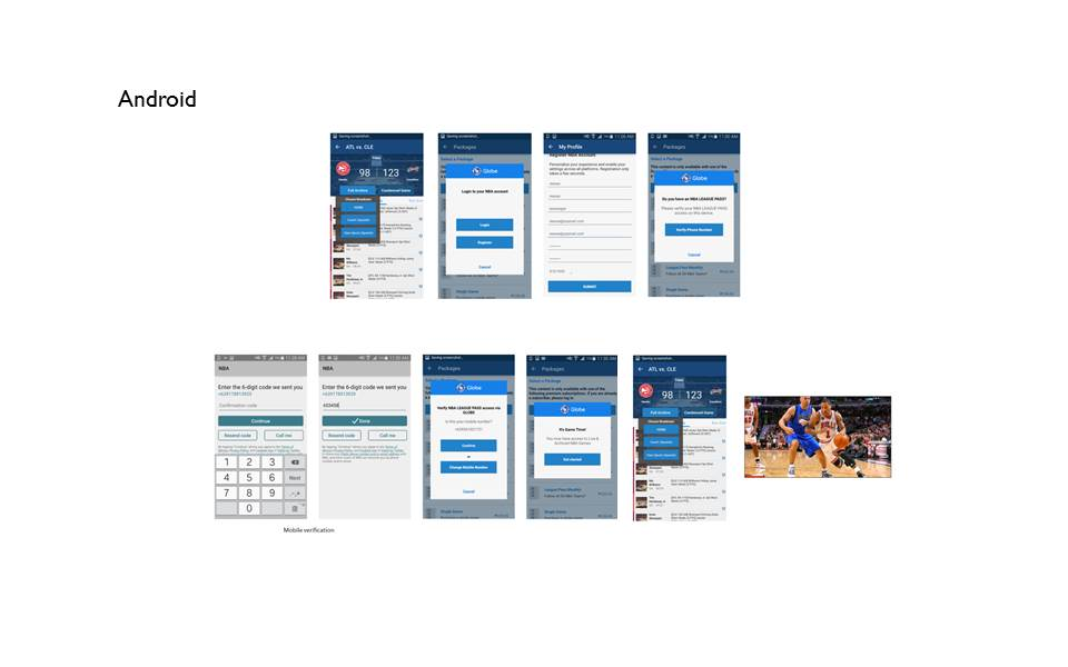 Globe launches streamlined registration process for users to access NBA LEAGUE PASS on mobile devices
