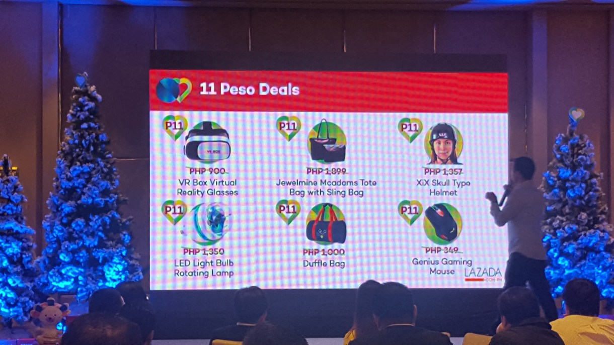 Lazada launches 11.11 with more than 1M deals! Top brands and amazing deals for your Christmas shopping