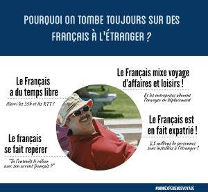 Pourquoi on tombe toujours sur des Français à l'étranger ?