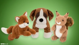 Peluches Buster the Boxer et ses amis