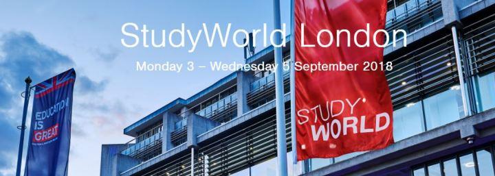Eli in England participe au StudyWorld à Londres