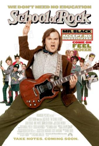 Titre anglais : School of Rock