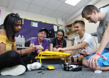 anglais robotics lego2