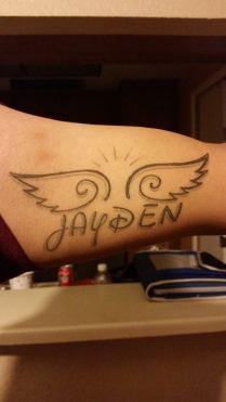 Oscar Zaragoza -Here's my ink for my angel.