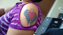 Maria's Ink honouring her son Alex who will be 11 on March 31.