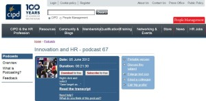 CIPD Podcast 67