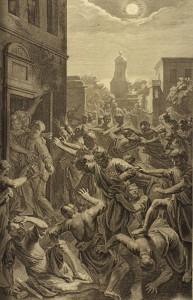 Sodomites struck blind