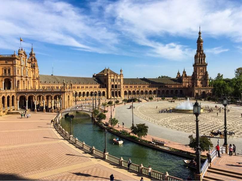Siviglia in un giorno e mezzo_Plaza de Espana
