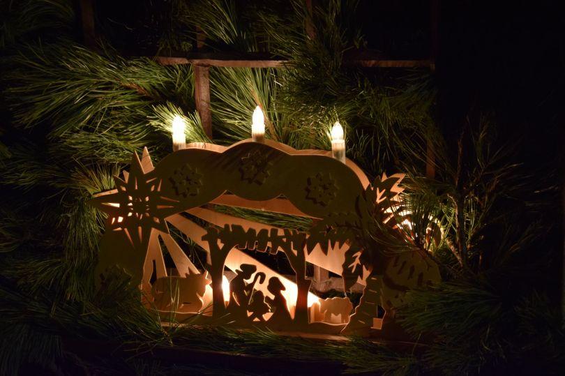 Natale in Val di Fiemme, presepe Tesero