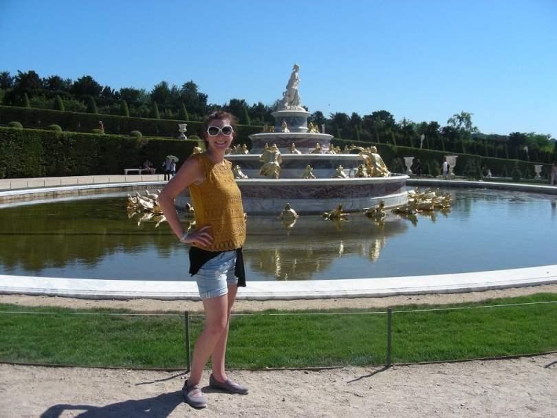 Martina a Versailles