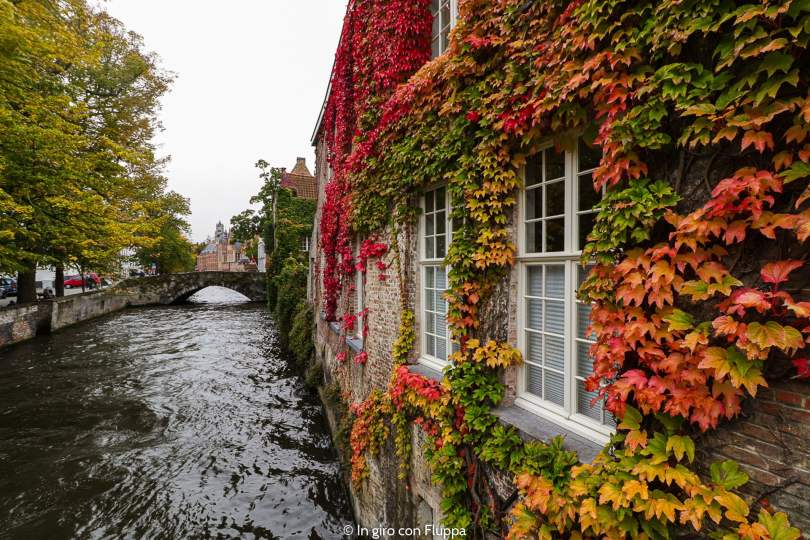 Bruges in autunno
