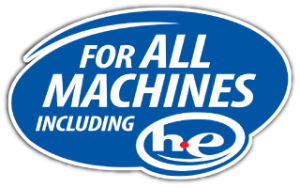 for all machines including high-efficiency