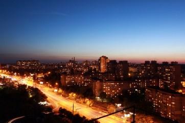Закат на Виноградаре. Киев