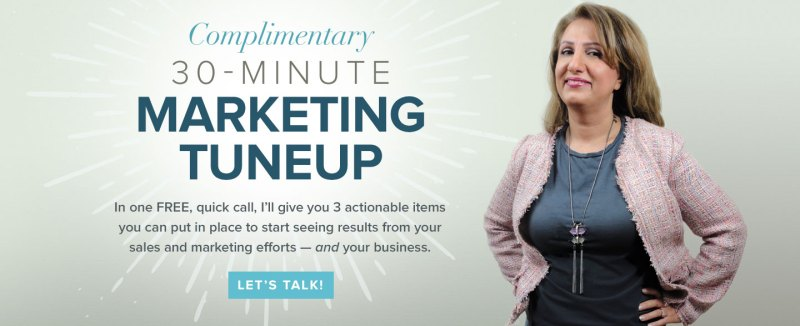 Complimentary 30-Minute Marketing Tuneup