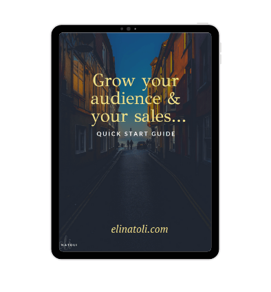 row your audience and your sales