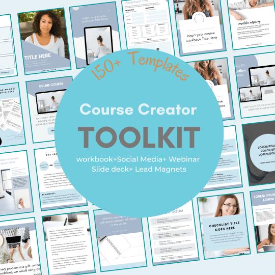 Canva Course Creator Toolkit Templates