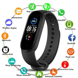 eLine-m5-band-sport-wristband-android-ios