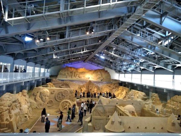 鳥取旅行で砂の美術館や鳥取砂丘や白兎神社へ行ってきました