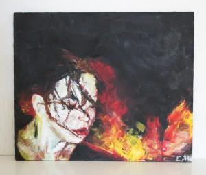 Oil paint, 201330 x 35 cm