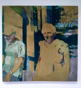 In my genes Oil paint, 2017133 x 133,5 cm