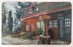 Oil paint, 201710 x 15 cm
