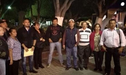 Habitantes de comunidades de San Francisco, denuncian fraude de la CNC