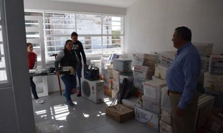 Estrenan oficinas en Purísima