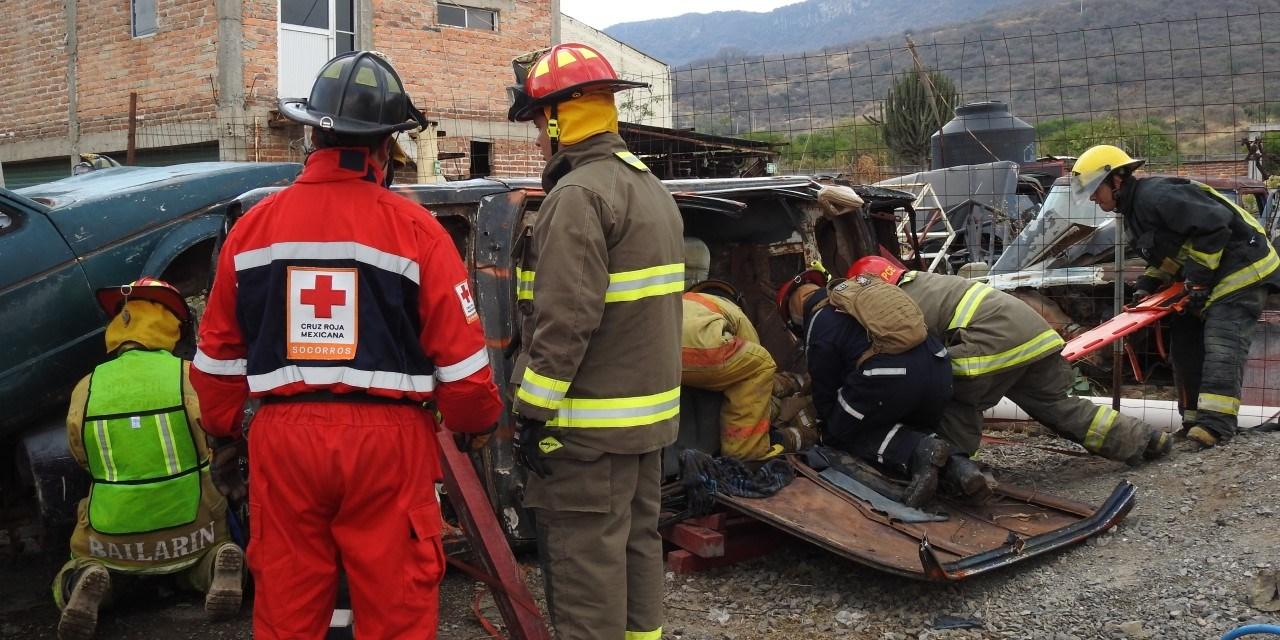 Aprenden a salvar vidas en carretera