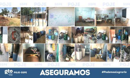 Desmantelan narcolaboratorio en San Francisco del Rincón