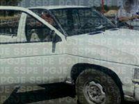 Recuperan camioneta robada en el DF
