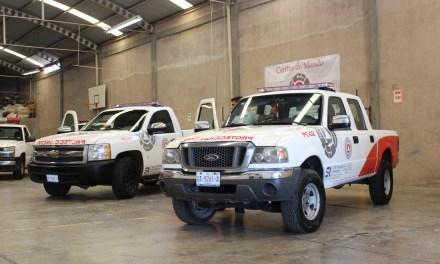 Equipan a Protección Civil de San Francisco