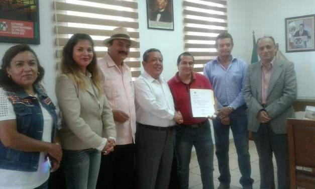 Oficializan a nuevo dirigente del PRI Purísima