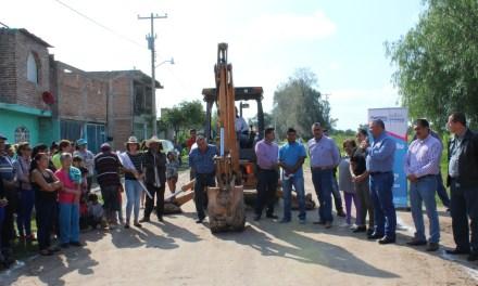 Inician más obras en Purísima del Rincón