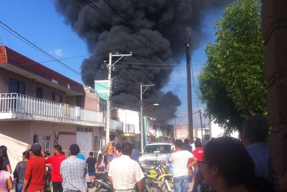 Se incendia bodega de materiales en San Francisco del Rincón