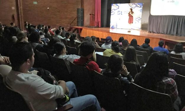 Metas, sueños y empoderamiento; charla de Tania Gutierrez con universitarios