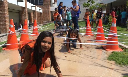 Participan niños en Curso de Verano del Centro Impulso